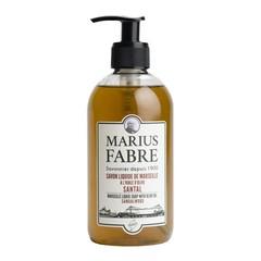 Marius Fabre Zeep sandelhout met pomp (400 ml)