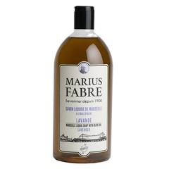 Marius Fabre Zeep navulling lavendel (1 liter)