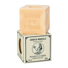 Marius Fabre Savon Marseille zeep in doos blanc zonder palmolie (400 gram)