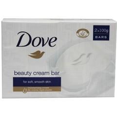 Dove Beauty cream bar regular 2 x 100 gram (1 stuks)