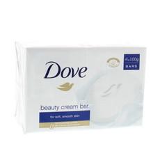 Dove Beauty cream bar regular 4 x 100 gram (1 stuks)