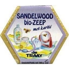 Traay Zeep sandelhout bio (100 gram)