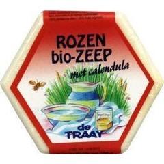 Traay Zeep roos / calendula bio (100 gram)