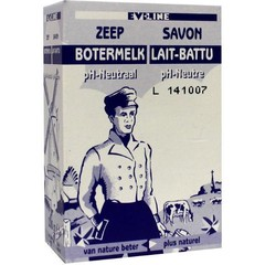 Evi Line Botermelk zeep neutraal (100 gram)