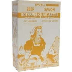 Evi Line Botermelk zeep vanille (100 gram)