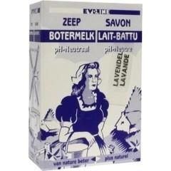 Evi Line Botermelk zeep lavendel (100 gram)