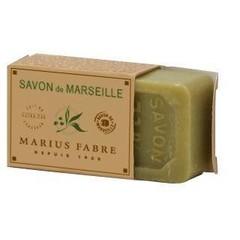 Marius Fabre Savon marseille zeep in doos olijf (40 gram)
