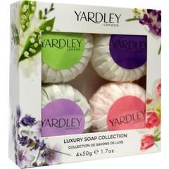 Yardley Gastenzeep mix 50 gram (4 stuks)