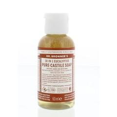 Dr Bronners Liquid soap eucalyptus (60 ml)