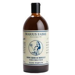 Marius Fabre Nature Marseille zeep zonder parfum navul (1 liter)