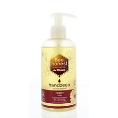Traay Bee Honest Handzeep rozen (250 ml)
