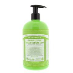 Dr Bronners Shikakai zeep citrus limoen (710 ml)