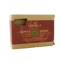 Herbelle Aleppo zeep olijf + 16% laurier (180 gram)