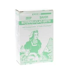 Evi Line Botermelk zeep eucalyptus (100 gram)