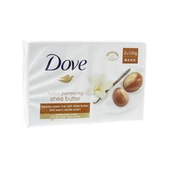 Dove Beauty cream bar sheabutter 2 x 100 gram (200 gram)