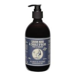 Marius Fabre Savon noir zwarte zeep met pomp (500 ml)
