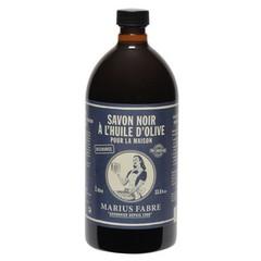 Marius Fabre Savon noir zwarte zeep navulling (1 liter)