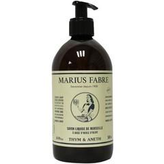 Marius Fabre Nature zeep tijm dille met pomp (500 ml)