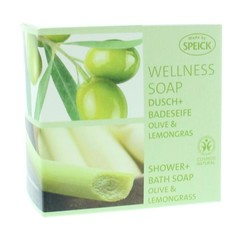 Speick Wellness zeep olijf & lemongrass (200 gram)