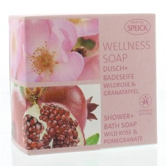 Speick Welness zeep wilde roos & granaatappel (200 gram)