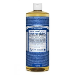 Dr Bronners Liquid soap pepermunt (945 ml)