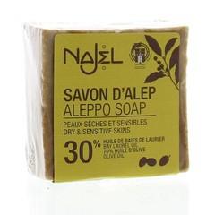 Najel Aleppo zeep olijf olie 30% (170 gram)