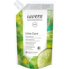Lavera Navulling handzeep limoen/refill hand wash lime (500 ml)