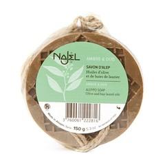 Najel Aleppo zeep amber oud aroma aan koord (150 gram)