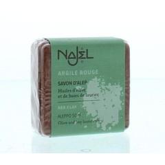 Najel Aleppo zeep scrub rode klei (100 gram)