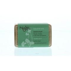 Najel Aleppo zeep olijf viooltjes (100 gram)