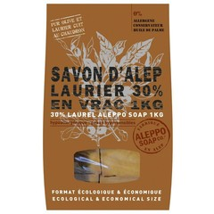 Aleppo Soap Co Aleppo zeep 30% laurier stukken (1 kilogram)