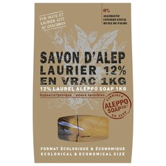 Aleppo Soap Co Aleppo zeep 12% laurier stukken (1 kilogram)