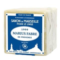 Marius Fabre Savon Marseille blanc in folie (400 gram)