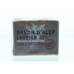 Aleppo Soap Co Aleppo zeep 20% laurier (200 gram)