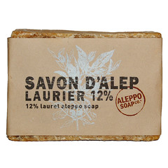 Aleppo Soap Co Aleppo zeep 12% laurier (200 gram)