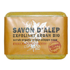 Aleppo Soap Co Aleppo zeep exfoliant argan bio (100 gram)