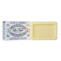 La Fare 1789 Zeep extra smooth lavendel bio (75 gram)