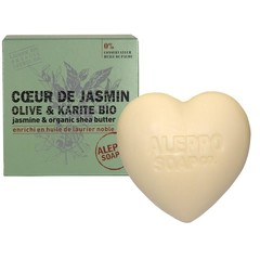 Aleppo Soap Co Hartzeep jasmijn in cellofaan (200 gram)