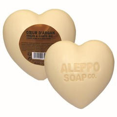 Aleppo Soap Co Hartzeep argan in cellofaan (200 gram)