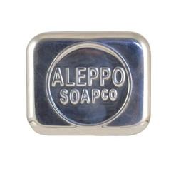 Aleppo Soap Co Zeepdoos aluminium leeg voor Aleppo zeep (1 stuks)