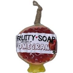 Fruity Soap Granaatappel zeep (100 gram)