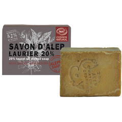 Aleppo Soap Co Aleppo zeep cosmos natural 20% laurier (190 gram)