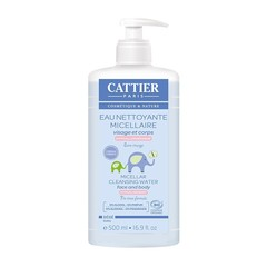 Cattier Baby reinigend micellair water (500 ml)