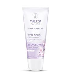 Weleda Baby witte malva sensitive gezichtscreme (50 ml)