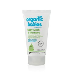 Green People Organic babies baby wash & shampoo scent free (150 ml)