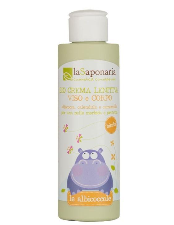 La Saponaria La Saponaria Baby gezicht en lichaam bio kalmerende creme (150 ml)