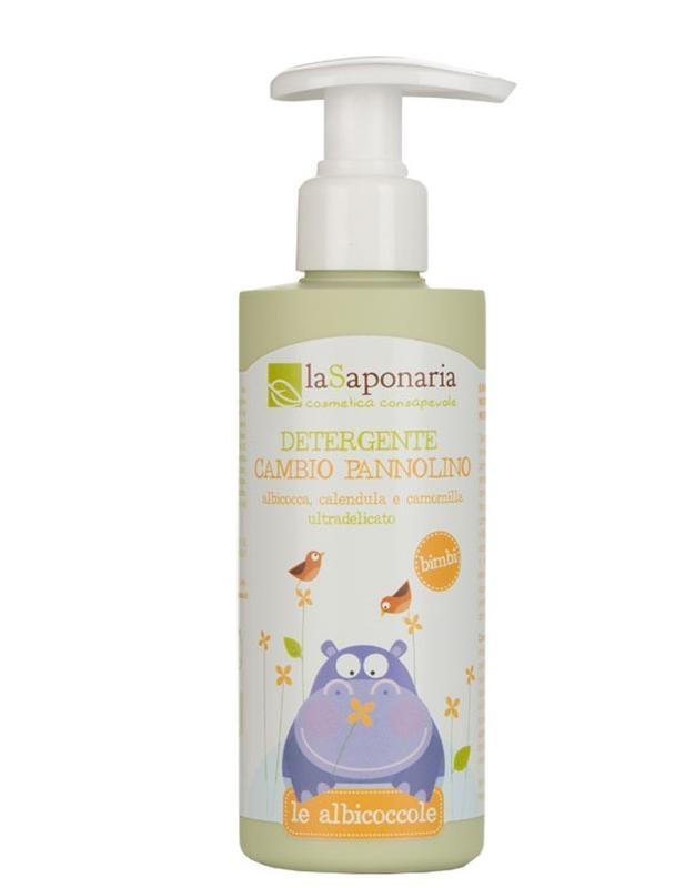 La Saponaria La Saponaria Baby luierverschoning reiniging bio emulsie (200 ml)