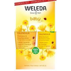 Weleda Calendula baby billenbalsem voordeelset (1 set)