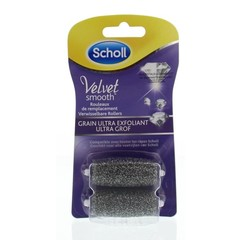 Scholl Velvet smooth verwissel roller diamant extra grof (2 stuks)