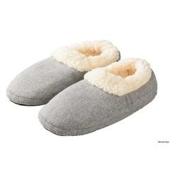 Warmies Slippies comfort maat 37-41 grijs (1 paar)